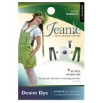 Jacquard Jeanie Green Denim Dye: Green, Packet, Denim Dye