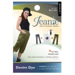 Jacquard Jeanie Olive Denim Dye: Green, Packet, Denim Dye, (model JJD009), price per each