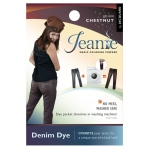 Jacquard Jeanie Chestnut Denim Dye: Brown, Packet, Denim Dye, (model JJD010), price per each
