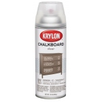 Krylon® Chalkboard Spray Paint Clear: Clear, Spray Can, 12 oz, Chalkboard