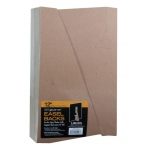 "12"" Glue-On Easel Backs: Brown, 100-Pack, 12"", Easel Backs, (model L328-1312S), price per 100-Pack"