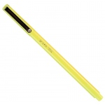 Marvy® Uchida LePen® Fineline Marker Fluorescent Yellow: Yellow, Dye-Based, Fine Nib, (model MR4300-F5), price per each