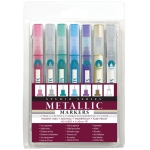 Peter Pauper Press Peter Pauper Press Micro Line Metallic Marker Set
