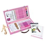 Royal & Langnickel® Pink Art Beginner Sketching & Drawing Set: Children's Art Kit, Drawing, (model RSET-PADS3000), price per set