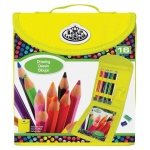 Royal & Langnickel® Keep N' Carry™ Drawing Set: Children's Art Kit, Drawing, (model RTN-163), price per set