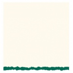 Strathmore 3.5 x 4.875 White/Emerald Decker Creative Cards