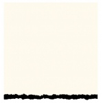 "Strathmore® 3.5 x 4.875 White/Black Deckle Creative Cards: Black/Gray, White/Ivory, Envelope Included, Card, 10 Cards, 3 1/2"" x 4 7/8"", 80 lb"