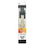 Daler-Rowney Simply Simmons Just Filberts 4-Brush Set: Synthetic Bristle, Acrylic, (model SS255400005), price per set