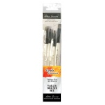 Daler-Rowney Simply Simmons Creative Instinct 5-Brush Set: Synthetic Bristle, Acrylic, (model SS255500004), price per set
