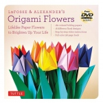 Tuttle Origami Flowers: Origami, (model T843126), price per kit