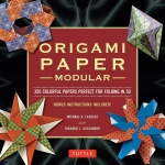 Tuttle Modular Origami Paper Pack: Multi, Sheet, 350 Piece, Origami, (model T843218), price per 350 Piece
