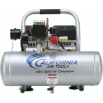 CAT 2010A Air Compressor: 1.0 HP, 2.0 Gal. Aluminum Tank, Ultra Quiet, Oil-Free, Lightweight: (Airbrushing, Tattooing, Industry, Medical)