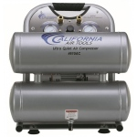 CAT 4610AC Air Compressor: 1.0 HP, 4.6 Gal. Aluminum Tank, Ultra Quiet, Oil-Free, Lightweight