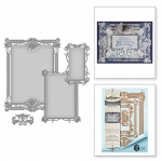 Spellbinders - Stacey Caron - Nestabilities - Waterlilies Decorative Element Die