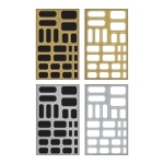 Advantus - Tim Holtz - Ideaology - Metallic Stickers - Labels
