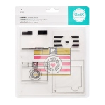 We R Memory Keepers - CMYK - Stamp Set  - Layered Stamp - Camera