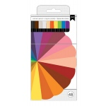 American Crafts - Colored Pencil Set - 48 Piece Set