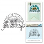 Spellbinders  - 3D Shading Stamps -  Buttercup Stamps