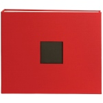 American Crafts - Cloth D - Ring Album 12x12 - Cardinal