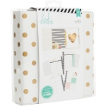 American Crafts - Heidi Swapp - Large Memory Planner - Gold Foil Dots