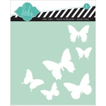 American Crafts - Heidi Swapp - Stencil 6x6 - Butterfly