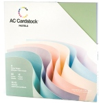 American Crafts - Textured Cardstock Pack - 12x12 60 Pack - Pastels