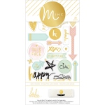 American Crafts - Heidi Swapp - Minc - Icon Stickers 26 Pack