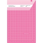 American Crafts - Pink Double Sided Self - Healing Cutting Mat 12inX18in