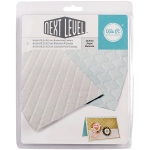We R Memory Keepers - Next Level Embossing Folders 6x6 2 Pack Quilted