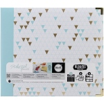 We R Memory Keepers - Teresa Collins Albums Made Easy 3 - Ring Album 12inX12in - Triangle