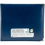 We R Memory Keepers - Classic Leather D - Ring Album 12x12 - Cobalt