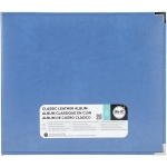 We R Memory Keepers - Classic Leather D - Ring Album 12x12 - Country Blue