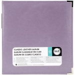 We R Memory Keepers - Classic Leather D - Ring Album 8.5x11 - Lilac