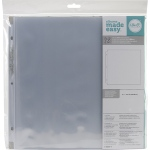We R Memory Keepers - RingPhoto Sleeves 12x12 - 10 Pack Full Page