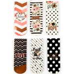 Prima - Love - Faith - Scrap Planner - Magnetic Bookmarks 6 Pack