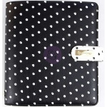 Prima - My Prima - A5 Planner - In The Moment - Black with White Dots