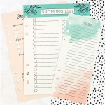 Prima - My Prima Planner - Dry Erase Board Inserts 3 Pack Colored