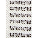 Prima - My Prima Planner - Mini Plannerflies 24 Pack #1 Butterflies Black & White