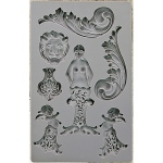Prima - Iron Orchid Designs - Vintage Art Decor Mould - 5inX8in - Nautica #2