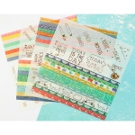 Prima - Julie Nutting Planner -  Washi Stickers - 4 Pack