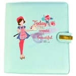 Prima - Julie Nutting A5 Planner - Today I Shall Create Something Beautiful