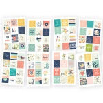 Simple Stories - Posh - Stickers 4x6 - 8 Pack Insta Quote