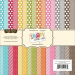 Simple Stories - Single - Sided Paper Pad 6x6 36 Pack Sn@p! Color Vibe Collection