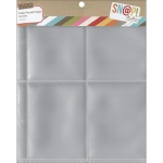 Simple Stories - Sn@p! Pocket Pages For 6inX8in Binders 10 Pack (4) 3x4 Pockets