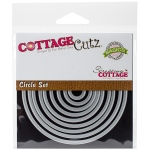 CottageCutz - Basics Dies - 9 Pack Circle - .56in To 3.56in