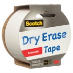Scotch® SCOTCH DRY ERASE REMOV TAPE, (model 1905R-DE-WHT), price per each