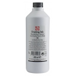 Royal Talens Talens® Drawing Ink 490ml Black: Black/Gray, Bottle, Drawing Ink, 11 ml, Waterproof, (model 43727000), price per each