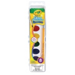 Crayola® GLITTER WATERCOLOR - 8 PAN, (model 53-0527), price per set
