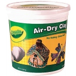 Crayola® TERRA COTTA AIR DRY CLAY 5 LB, (model 57-2004), price per each