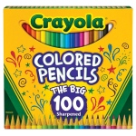 Crayola® CRAYOLA COLORED PENCILS 100 PK, (model 68-8100), price per pack